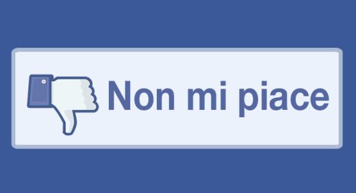 Facebook: in arrivo il pulsante Non mi piace