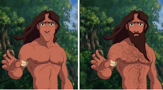 Se i Principi Disney avessero un fisico realistico