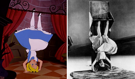 L'attrice che ha ispirato l'aspetto di Alice nel paese delle meraviglie