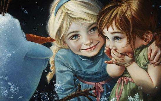 Se le Principesse Disney fossero dipinte da Leonardo da Vinci