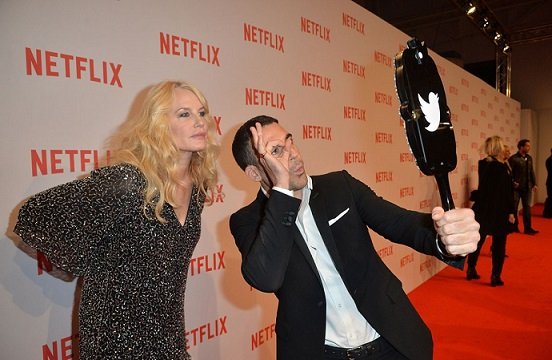 Netflix: tutte le foto del lancio a Milano