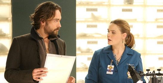 Crossover Bones – Sleepy Hollow: nuovo foto di Booth e Abbie