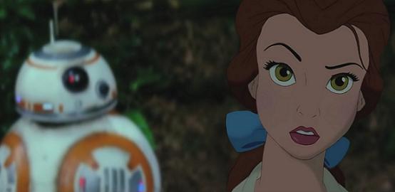 Se personaggi della Disney fossero in Star Wars