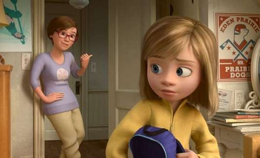 Inside Out: il video del primo appuntamento di Riley