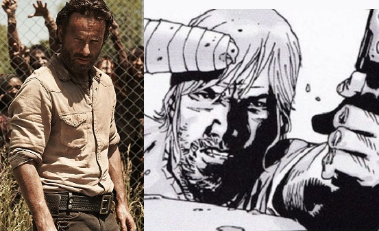 The Walking Dead: le differenze tra i personaggi reali e i fumetti
