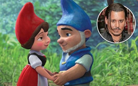Johnny Depp sarà il doppiatore nel sequel di Gnomeo e Giulietta