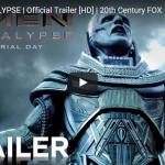X-Men: Apocalypse, il primo trailer ufficiale