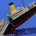 Il Titanic ricreato interamente con i Lego
