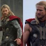 Le controfigure degli attori che interpretano i Supereroi