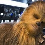 Star Wars: ecco l'attore che interpreta Chewbacca