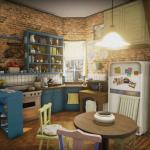 Friends: ricreato l'intero appartamento di Monica in 3D