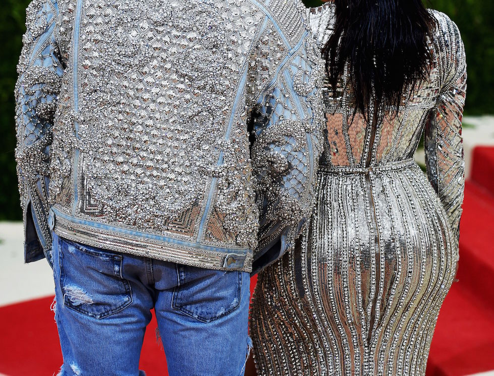 Kim Kardashian e Kanye West (TIMOTHY A. CLARY/AFP/Getty Images)