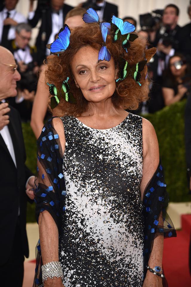 La stilista Diane von Furstenberg (Dimitrios Kambouris/Getty Images)