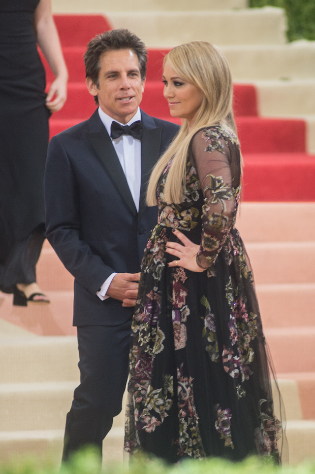 Ben Stiller e Christine Taylor (Mark Sagliocco/Getty Images)