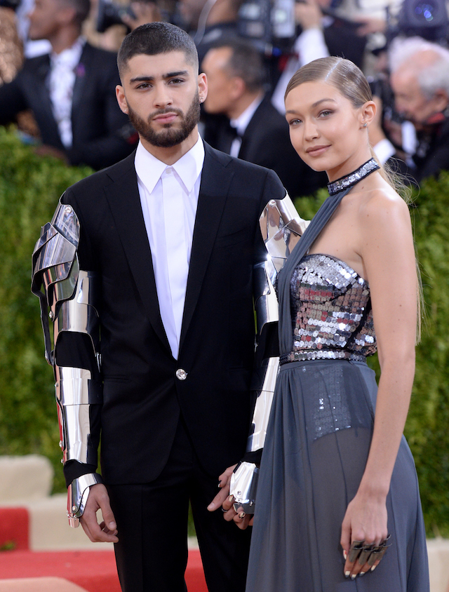 Gigi Hadid e Zayn Malik  (Evan Agostini/Invision/AP)