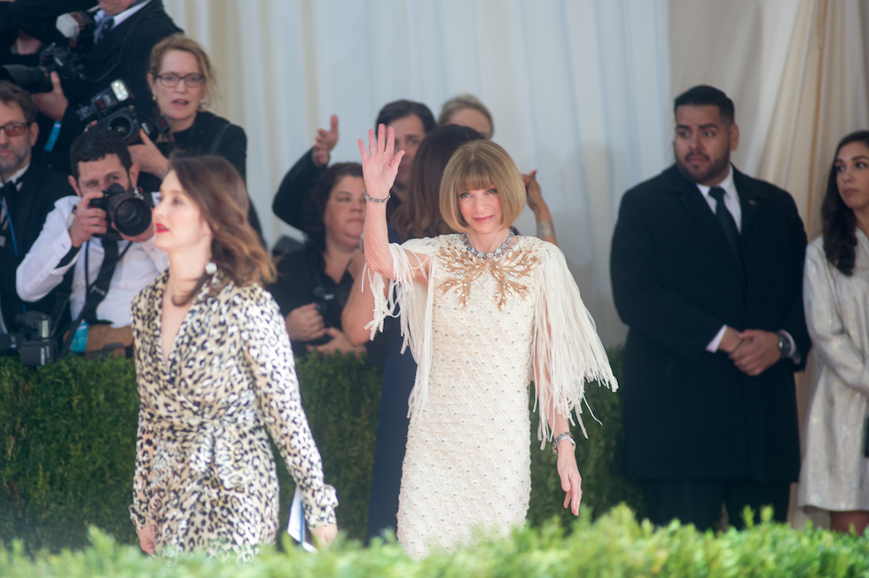Anna Wintour  (Mark Sagliocco/Getty Images)