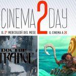 Cinema2Day: ecco l'elenco dei Film da vedere a 2 Euro