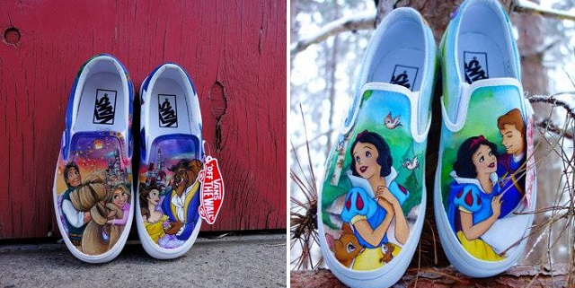 le scarpe vans disney