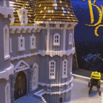 La Bella e la Bestia: ricreato il Castello con i Lego