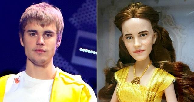 La nuova bambola di Belle è identica a Justin Bieber