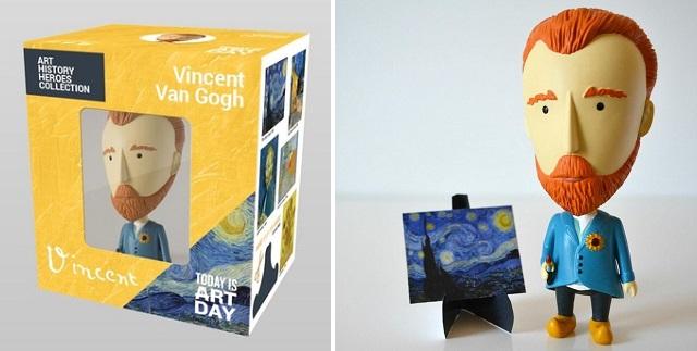 Ecco il Pupazzo di Van Gogh con l'orecchio rimovibile
