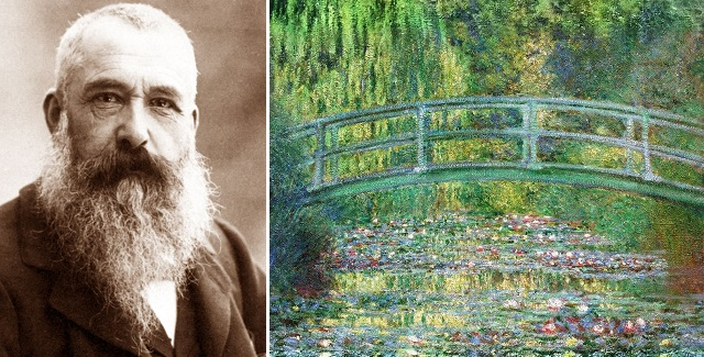 Ritrovati vecchi video di Degas, Monet e Renoir che dipingono