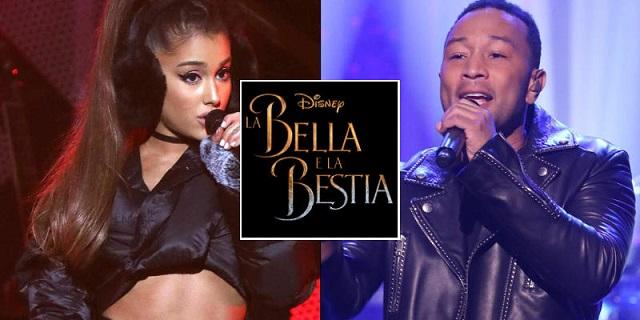 La Bella e la Bestia: ascolta la colonna sonora cantata da Ariana Grande e John Legend