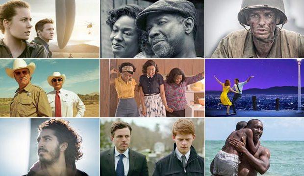 Tutti i dettagli sui 9 film che sono candidati all'oscar 2017