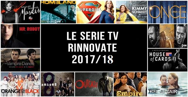 Tutte le serie tv che sono state rinnovate fino ad ora