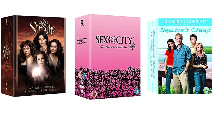 Sex and the City, Streghe, Dawson's Creek e altri cofanetti in super offerta