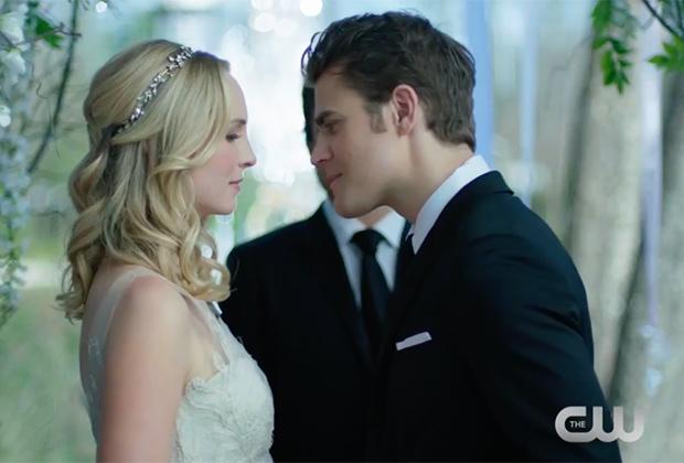 The Vampire Diaries 8: il ritorno di Katherine e il matrimonio tra Stefan e Caroline nel nuovo trailer