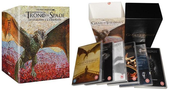 Game of Thrones: è disponibile il cofanetto completo con le stagioni 1-6