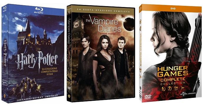 I Cofanetti delle Serie TV e dei Film in offerta su Amazon
