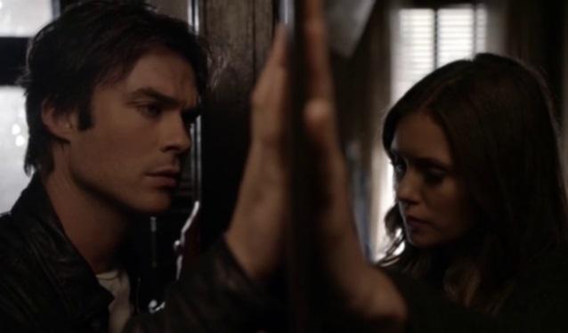 The Vampire Diaries 8: svelata la scena tagliata nel finale tra Damon ed Elena