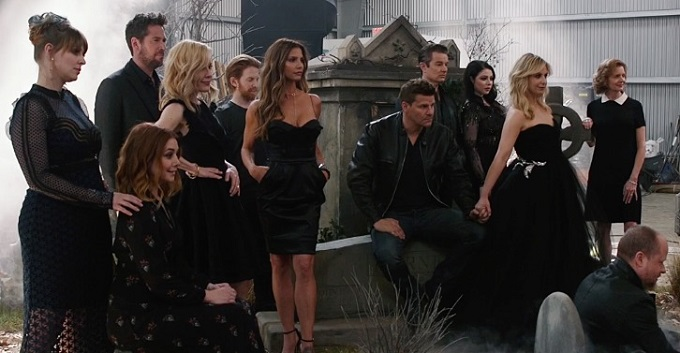 Buffy The Vampire Slayer: la reunion del cast dopo 20 anni, foto e video