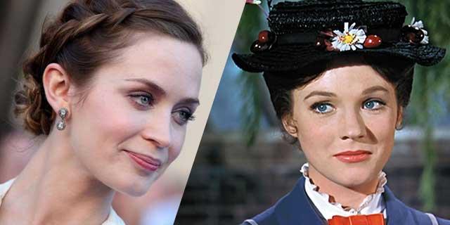 Mary Poppins Returns: la prima foto di Emily Blunt nei panni di Mary Poppins