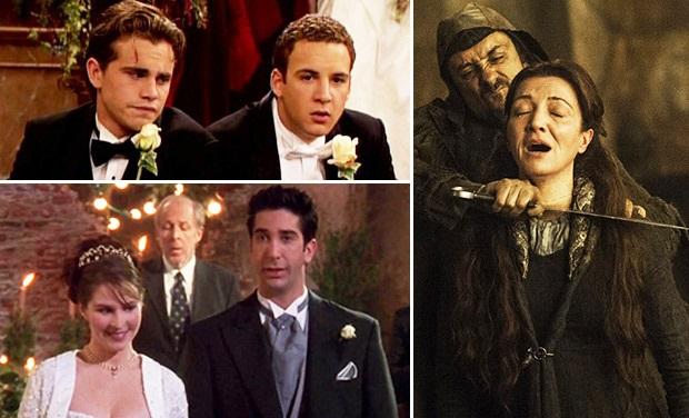 I Matrimoni delle serie tv più disastrosi di sempre