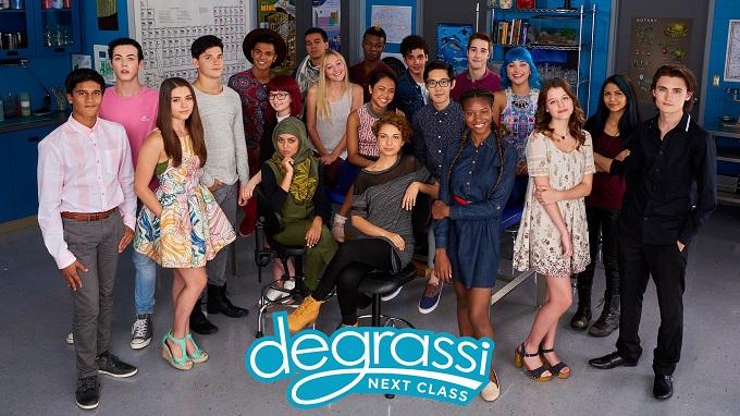 Degrassi: Next Class rinnovato per la Stagione 5 e 6
