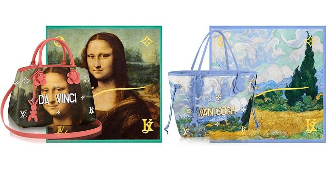 Arrivano le borse Louis Vuitton ispirate ai grandi artisti