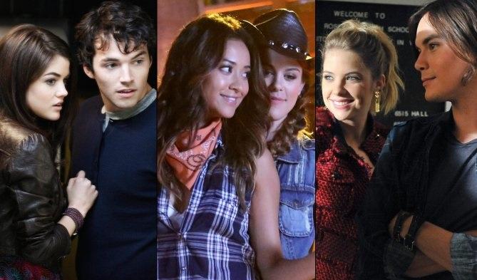 Pretty Little Liars: la classifica delle coppie più romantiche della serie
