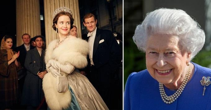 The Crown: la regina Elisabetta ha guardato e adorato la serie tv