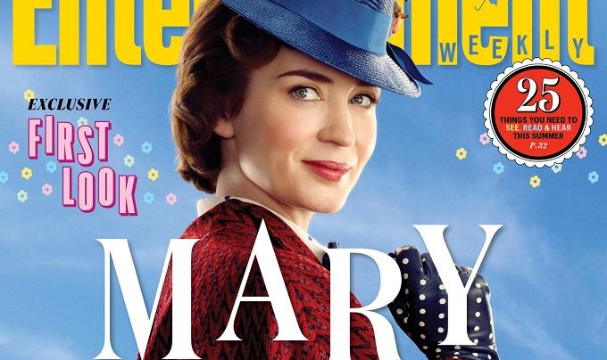Mary Poppins Returns: rilasciate 9 esclusive foto dal film