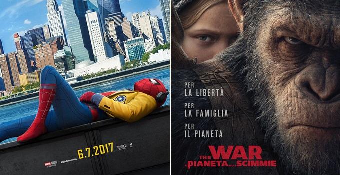 Film al Cinema: ecco i più attesi di Luglio 2017