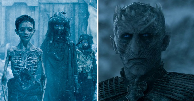 Game of Thrones: la differenza tra White Walkers e Wights
