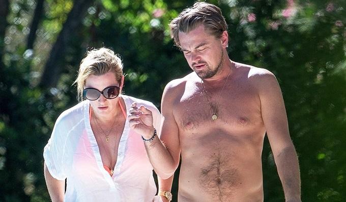 Leonardo DiCaprio e Kate Winslet in vacanza insieme, ecco le foto