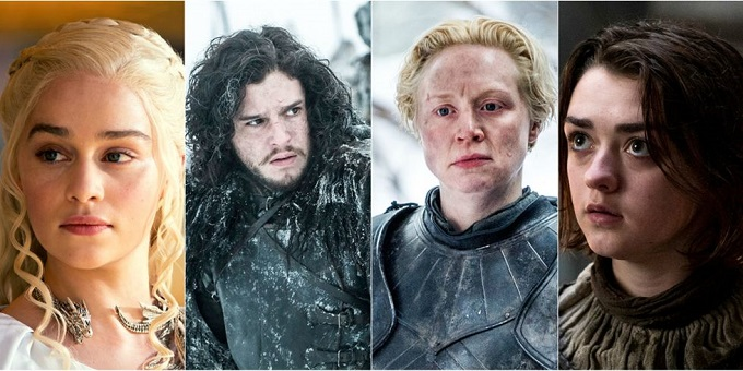 Game of Thrones: la classifica dei 15 personaggi più presenti nella serie