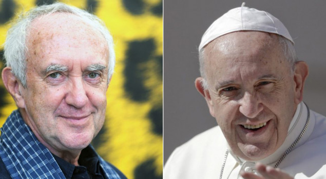 Jonathan Pryce e Anthony Hopkins saranno papa Francesco e Benedetto