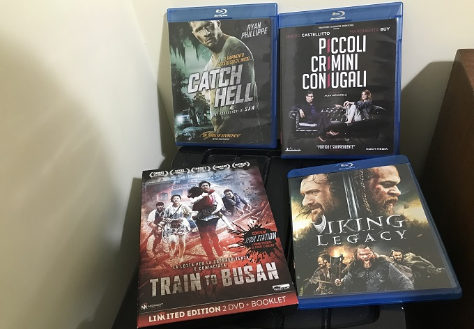 Koch Media Home Video: Piccoli Crimini Coniugali, Viking Legacy, Catch Hell, Train to Busan.