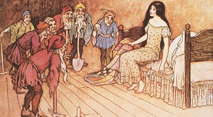 L'oscura origine della fiaba di Biancaneve e i Sette Nani