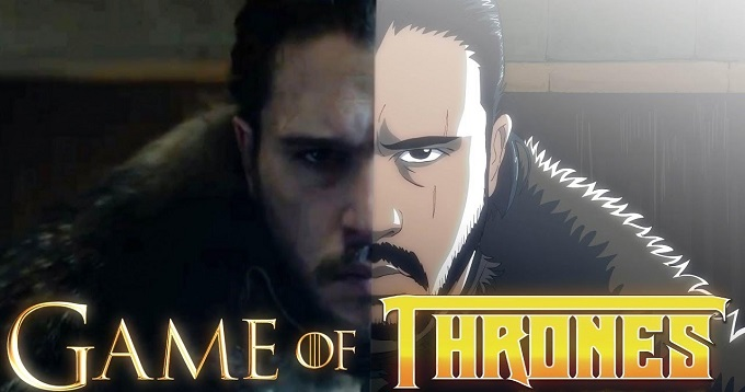 Game of Thrones: come sarebbe la serie tv se fosse un anime